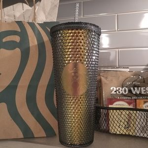 NWT Starbucks 2020 Fall Iridescent Studded Tumbler